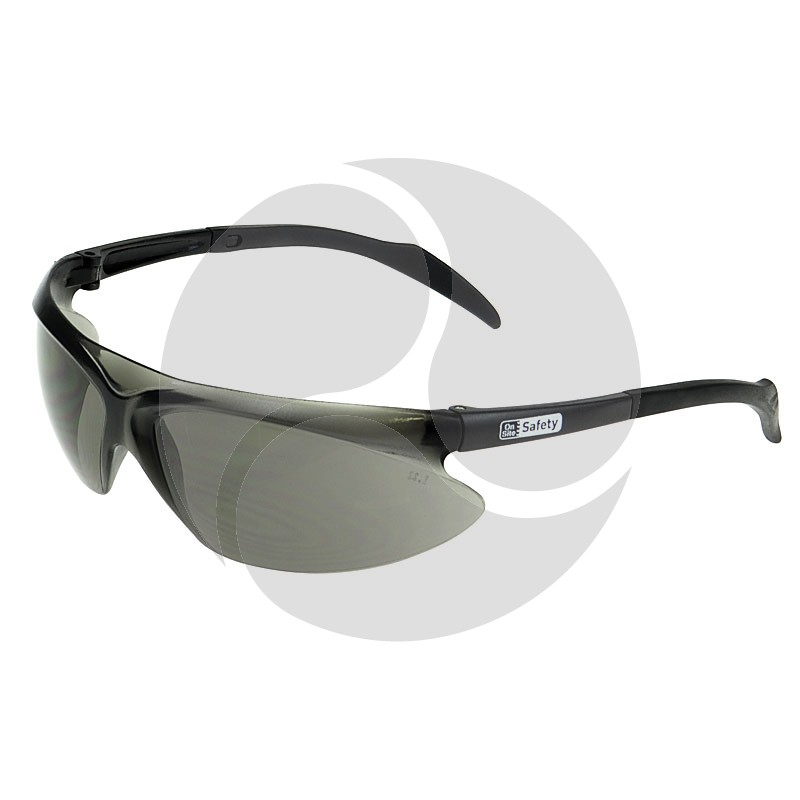 On Site Safety ARCHER Safety Glasses Smoke HC Lens