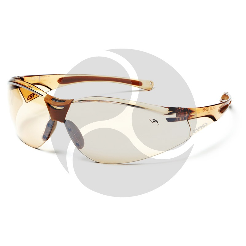 Eyres Safety Optics TERMINATOR Weather Brown Frame & Lens
