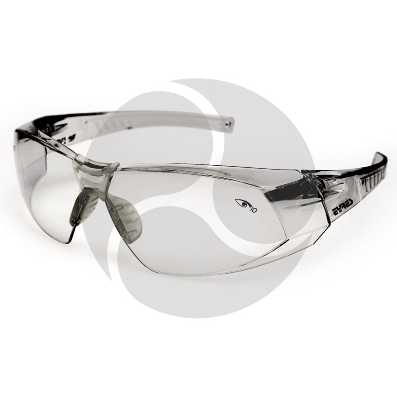 Eyres Safety Optics SALVATION Silver Frame & Lens