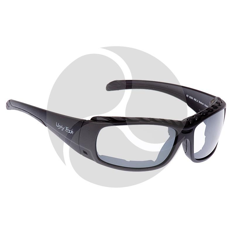 Ugly Fish Safety Eye Wear Armour Black Frame w/ Clear Lens