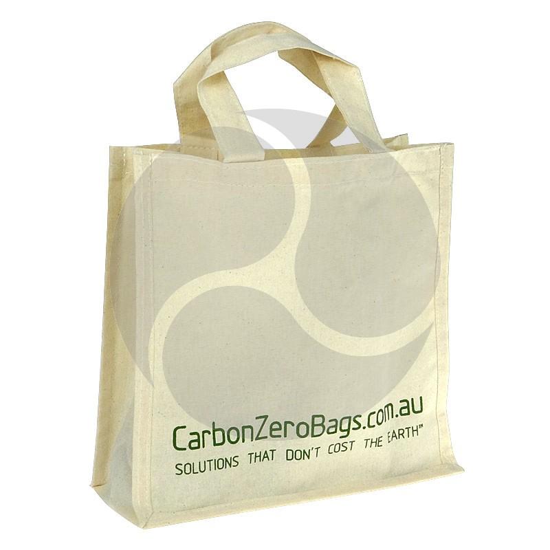 Carbon Zero Bags Printed Calico Bag - 25x25x10cm