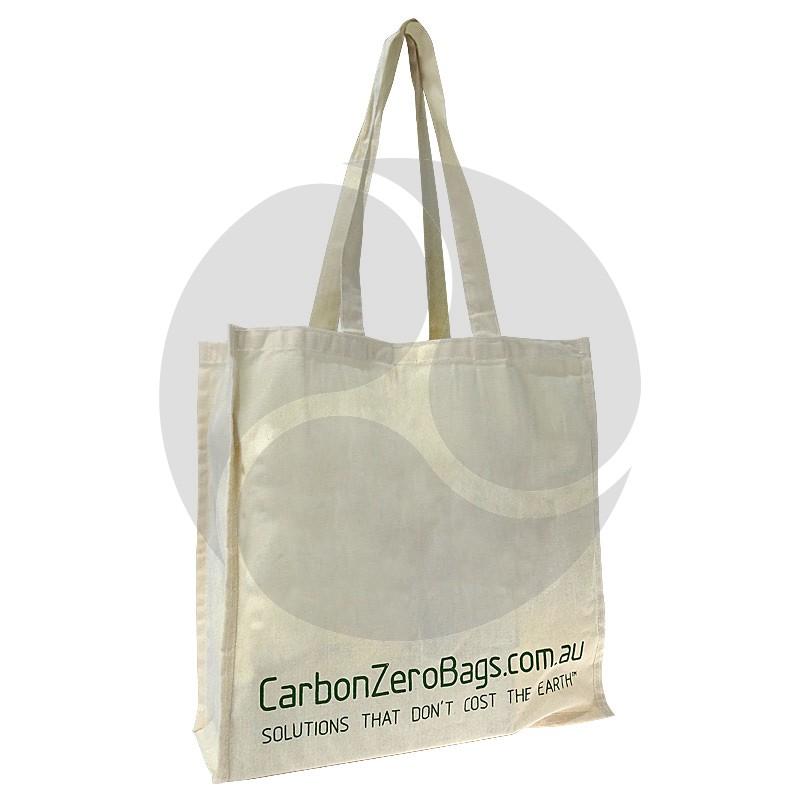 Carbon Zero Bags Printed Calico Bag 5oz - 37x37.5x14cm