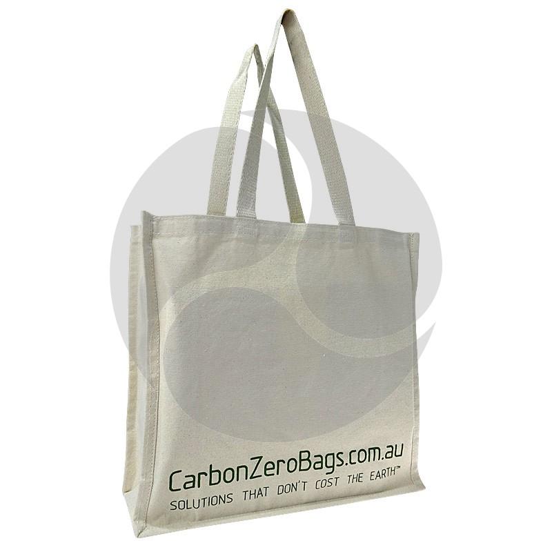 Carbon Zero Bags Printed Calico Bag 10oz - 37x37.5x14cm