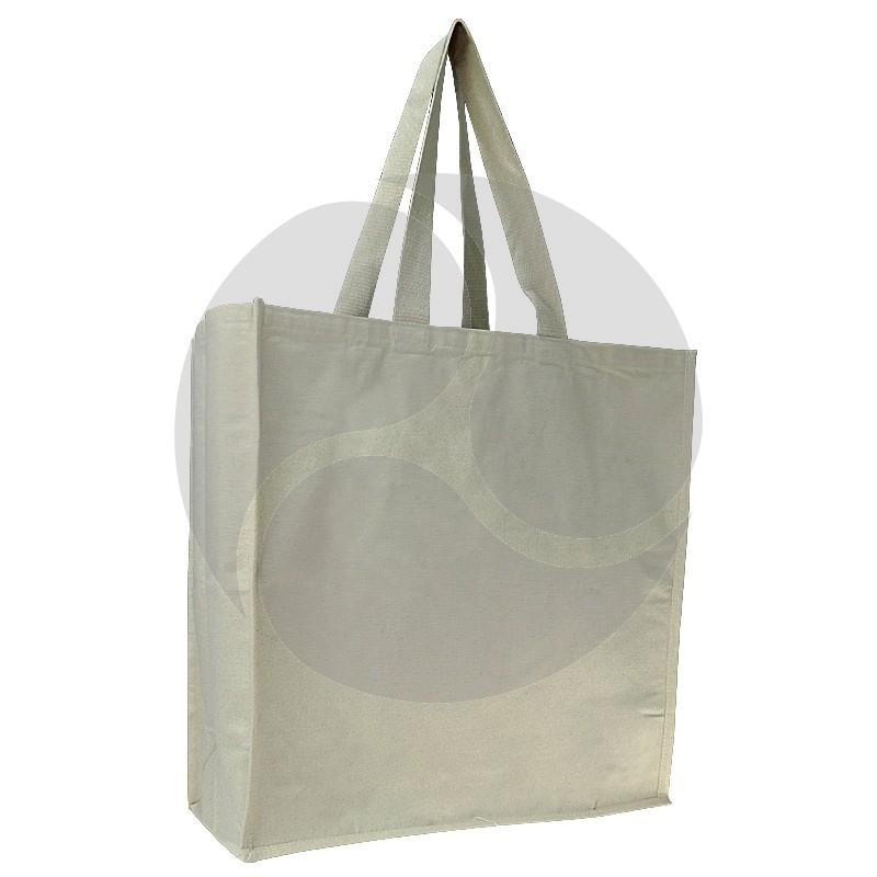 Carbon Zero Bags Calico Bag 10oz with Web Handle - 50x50x20cm