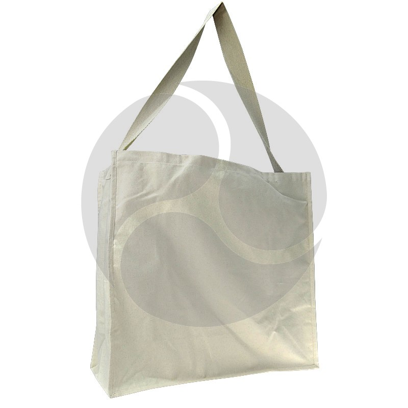Carbon Zero Bags Calico Bag 10oz with Single Web Handle - 55x50x20cm