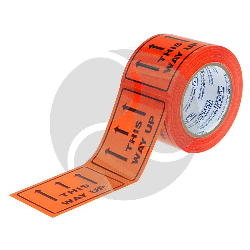 Stlyus Tapes Label Rolls - THIS WAY UP 75mm x 50m