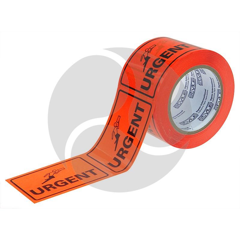 Stlyus Tapes Label Rolls - URGENT 75mm x 50m