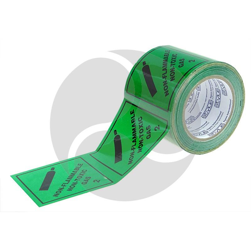 Stlyus Tapes Label Rolls - NON TOXIC GAS-2 100mm x 50m