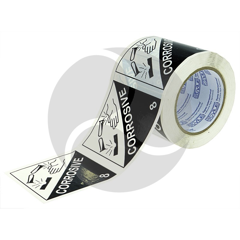 Stlyus Tapes Label Rolls - CORROSIVE-8 100mm x 50m