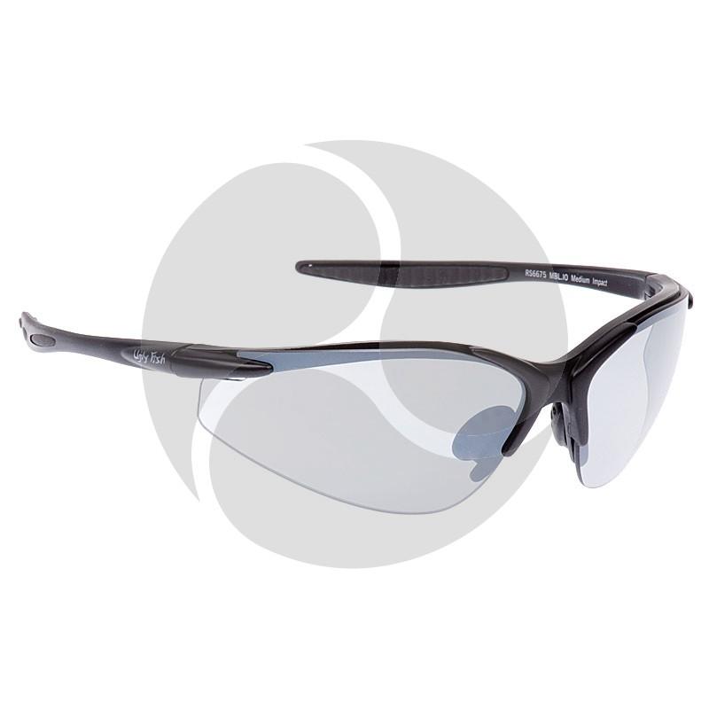 Ugly Fish Safety Eye Wear Blade Black Frame w/ Indoor / Outdoor Grey Lens