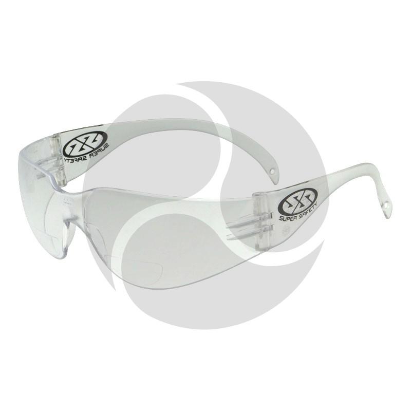 Super Safety ECHO Bifocal Reader - Clear