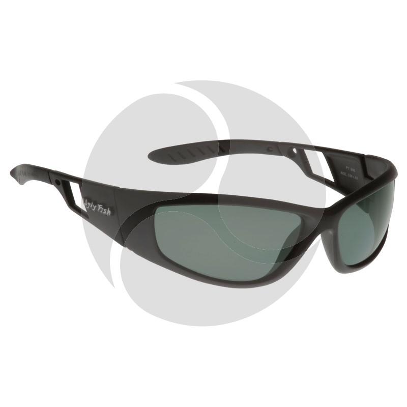 Ugly Fish Safety Eye Wear Force Black Frame w/ Polarised Smoke Grey Lens