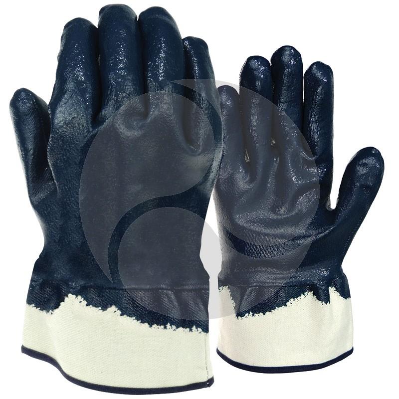 Full Dip Heavy Duty Nitrile Glove