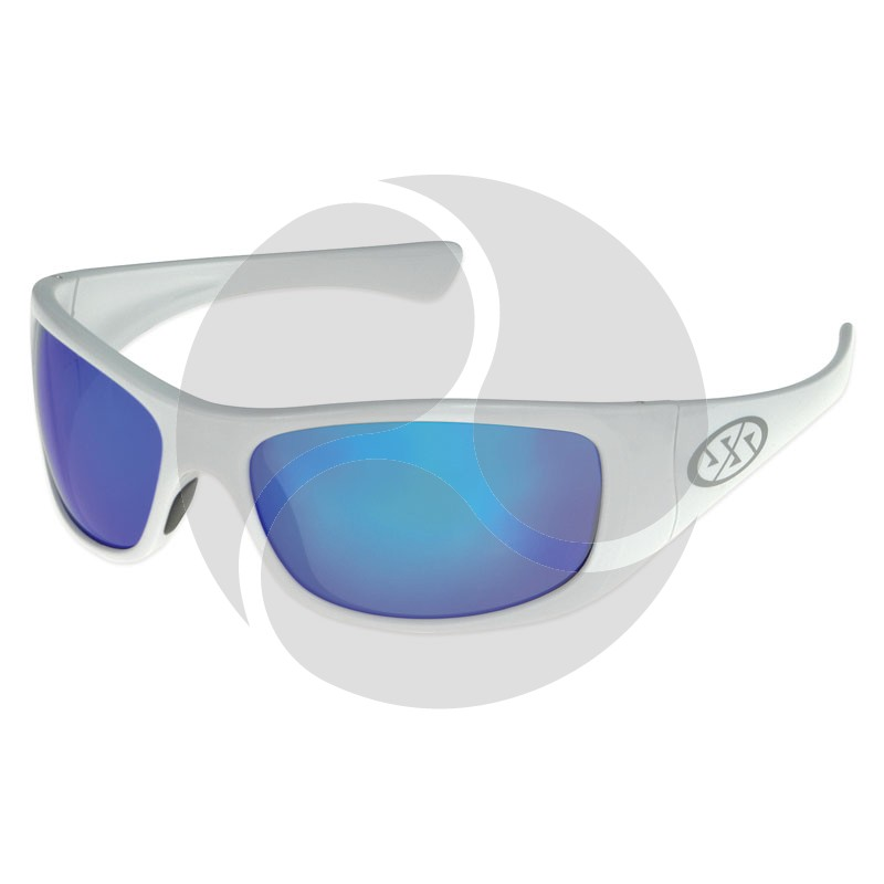 Super Safety JAM Safety Glasses - White Frame Smoke Lens
