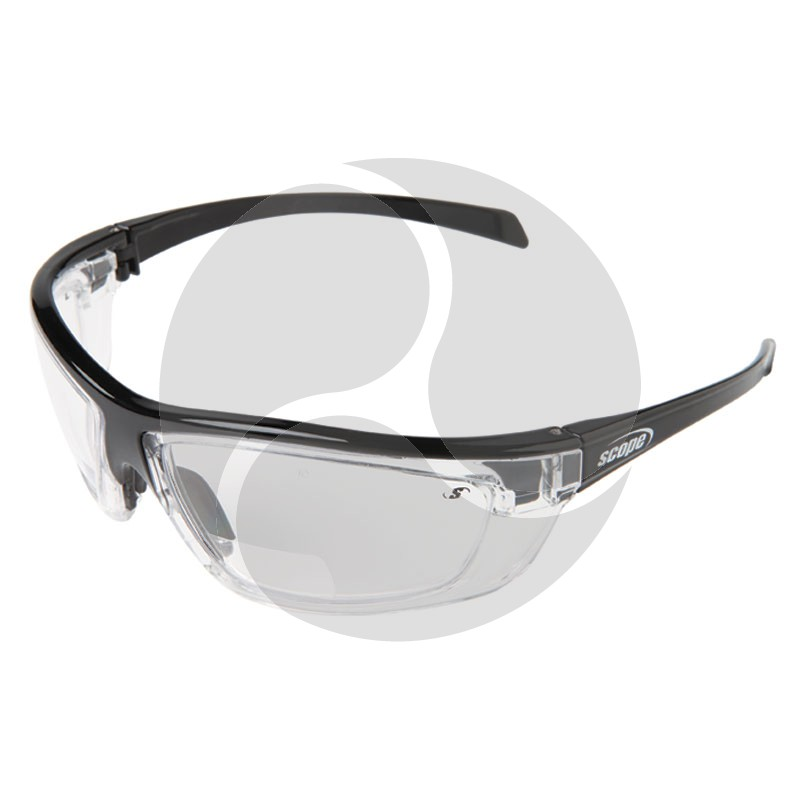 Scope Kinetic Power Vue Safety Glasses - Clear Lens