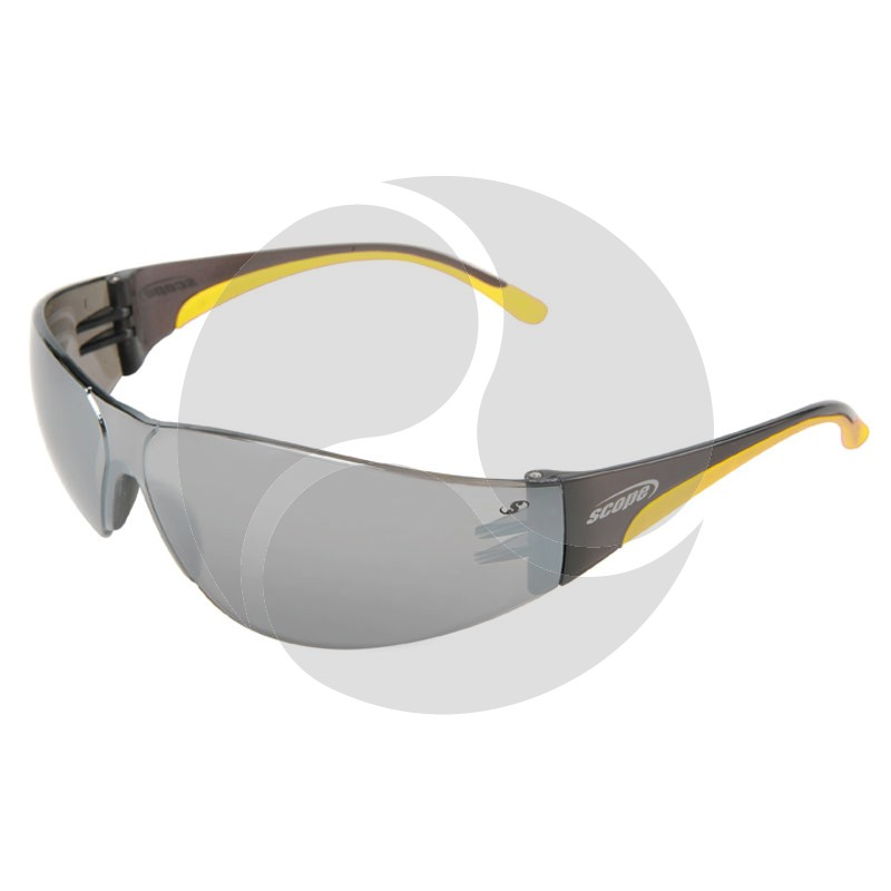 Scope Lite Boxa Safety Glasses Silver AF/HC Lens