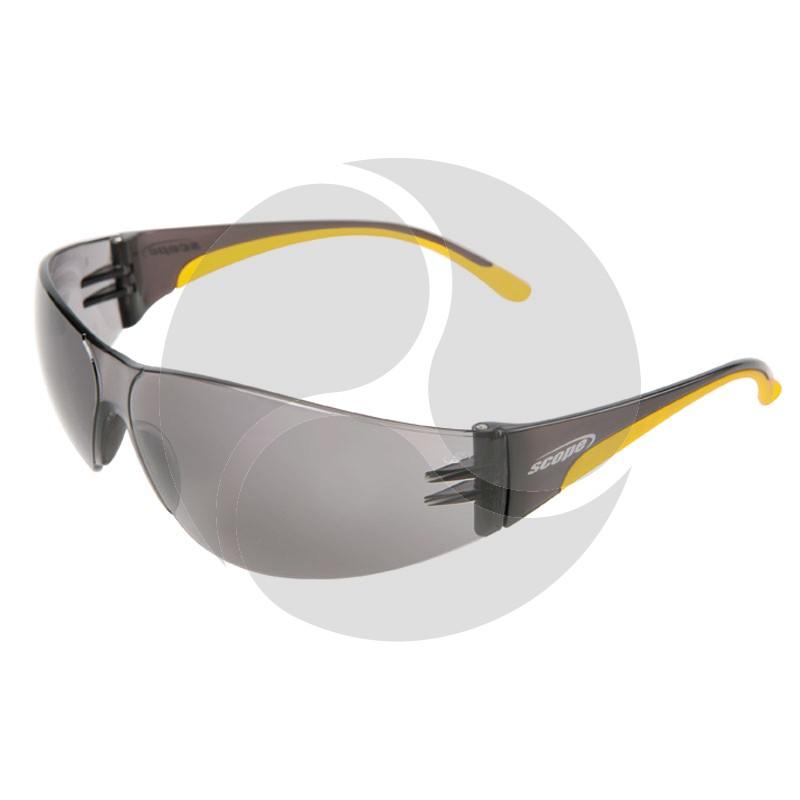 Scope Lite Boxa Safety Glasses Smoke AF/HC Lens