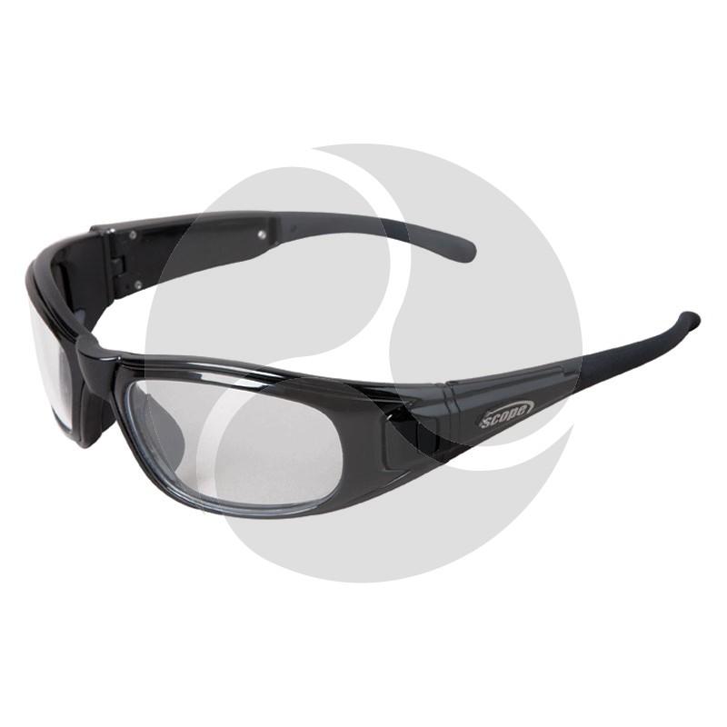 Scope Matrix Safety Glasses Black Frame Includes both Clear and Smoke AF/HC Lenses