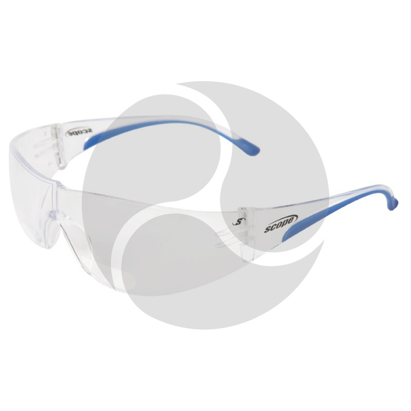 Scope Maxvue Magnifying Safety Glasses Clear AF/HC Lens