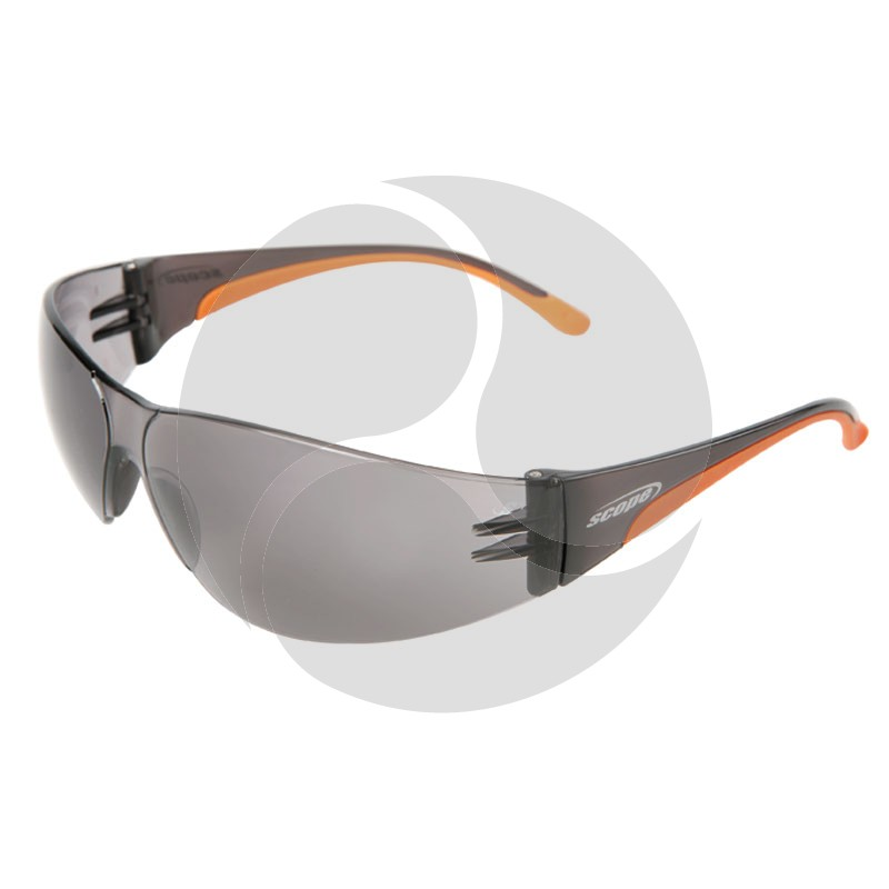 Scope Boxa Mini Safety Glasses Smoke AF/HC Lens
