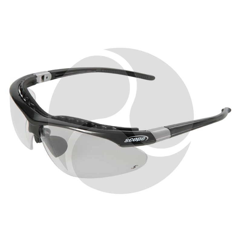 Scope Raider Safety Glasses Clear AF/HC Lens Fitted with Brow Bar
