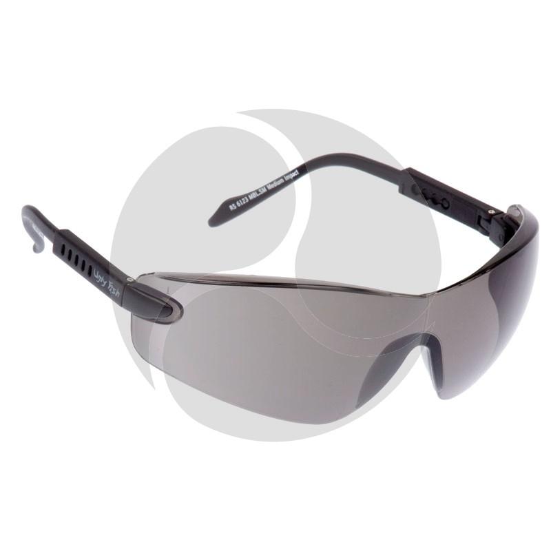 Ugly Fish Safety Eye Wear Scout Black Frame w/ Smoke Grey Lens