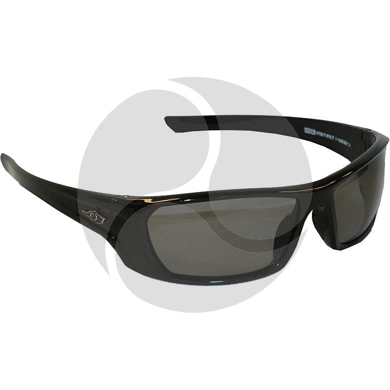 MSA INSTINCT I-WEAR-Z4 Premium Black/Dark Classic Tortoise Shell Frame - Smoke Lens