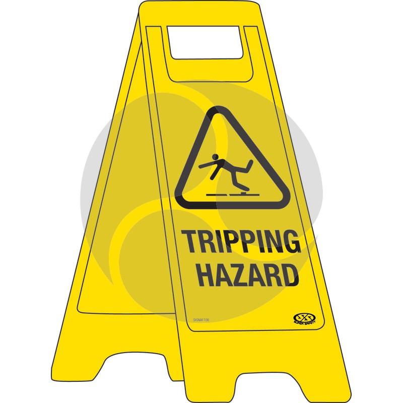 """A-Frame Sign """"Tripping Hazard"""""""