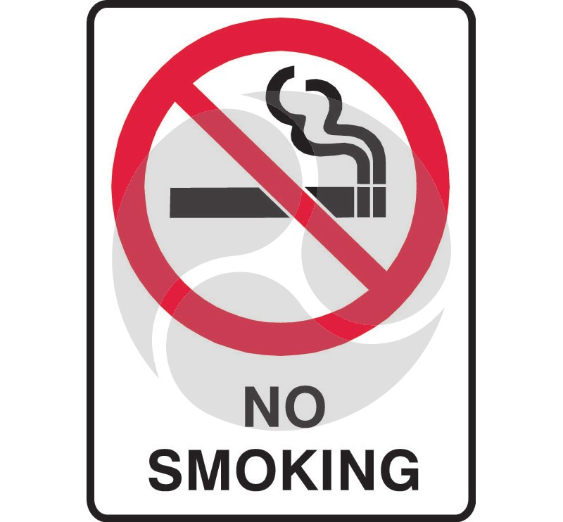 Prohibition Safety Sign - No Smoking