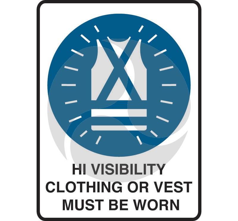 Super Safety Sticker - Hi Visibility Clothing