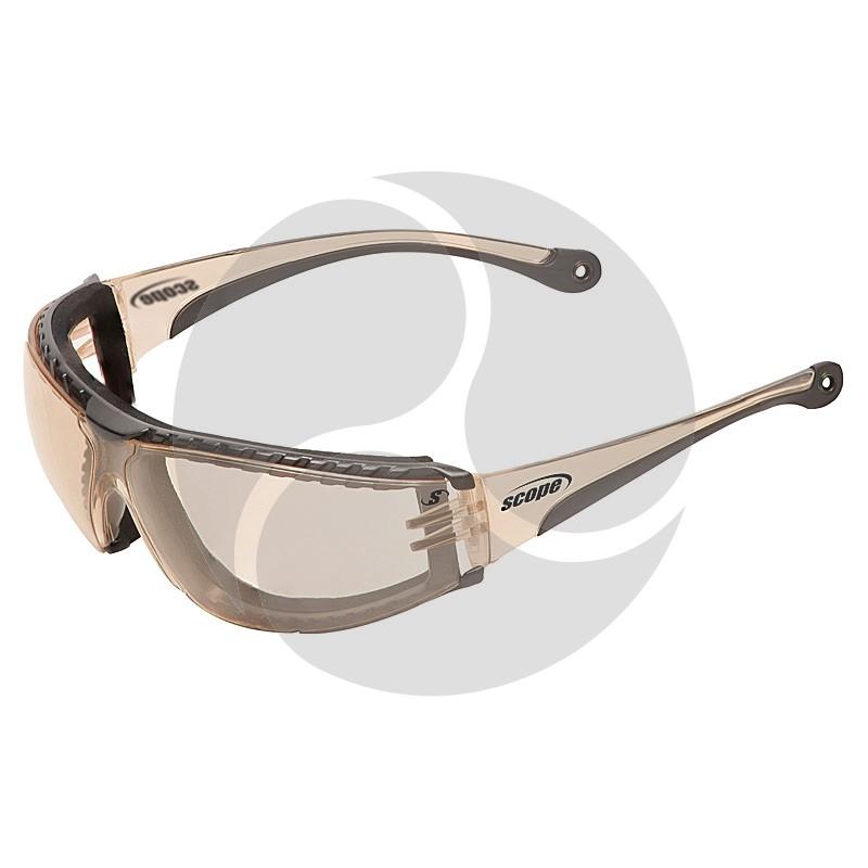 Scope SUPER BOXA Safety Glasses - Eclipse Lens
