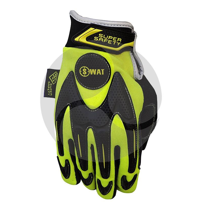 Super Safety SWAT Safety Glove - HiViz Yellow