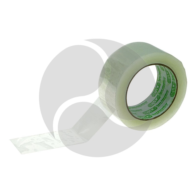 Stylus PP100 - Clear Acrylic Packaging Tape 48mmx75m