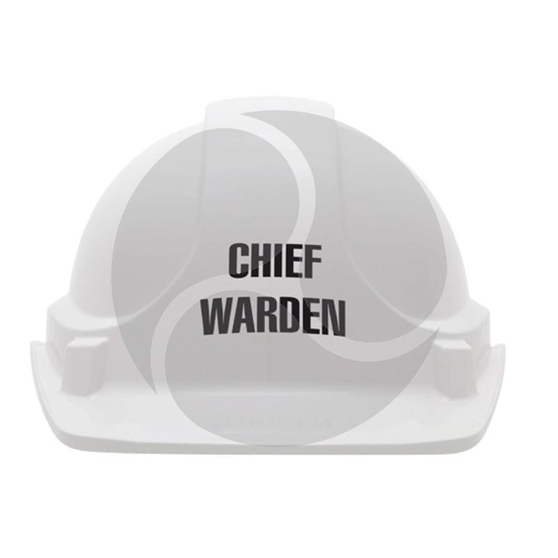 Unisafe TA560 1st CHIEF FIRE WARDEN Hard Hat