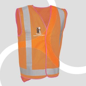 McGrath Foundation Day/Nite Work Vest