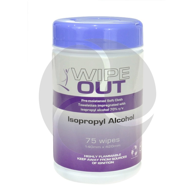 Wipe Out Alcohol Wipes