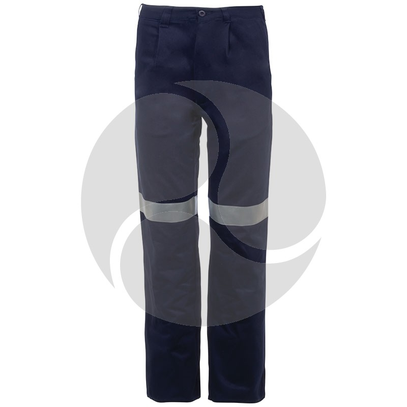 311GSM 100% Cotton 5 Pocket Taped Mens Work Trouser