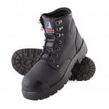 Steel Blue Work Boots - ARGYLE-MET w/ Nitrile BumpCap - Black