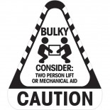 Sticker Caution Bulky 250 / Roll