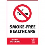 Prohibition Safety Sign - (QLD) Smoke-Free Healthcare
