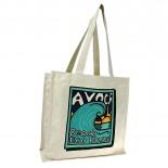 Carbon Zero Bags Avoca Beach Eco Bag Print Calico Bag 10oz - 37x37.5x14cm