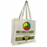 Carbon Zero Bags Hot Chilli Source Print Calico Bag 10oz - 37x37.5x14cm