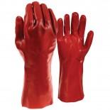 Red PVC Glove Pk12