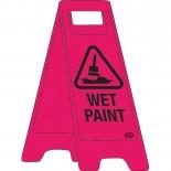 "A-Frame Sign ""Wet Paint"""