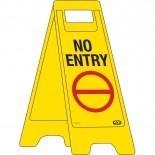 """A-Frame Sign """"No Entry"""""""