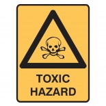 Warning Safety Sign - Toxic Hazard