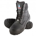 Steel Blue SOUTHERN CROSS Work Boot - Black