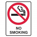Super Safety Sticker - No Smoking