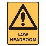 Super Safety Sticker - Low Headroom