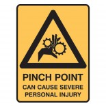 Super Safety Sticker - Pinch Point
